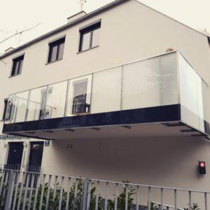 Balkonfolierung